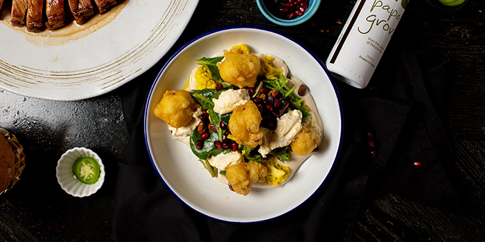 Cauliflower 3 Ways from The Lokal in Chinatown, Singapore