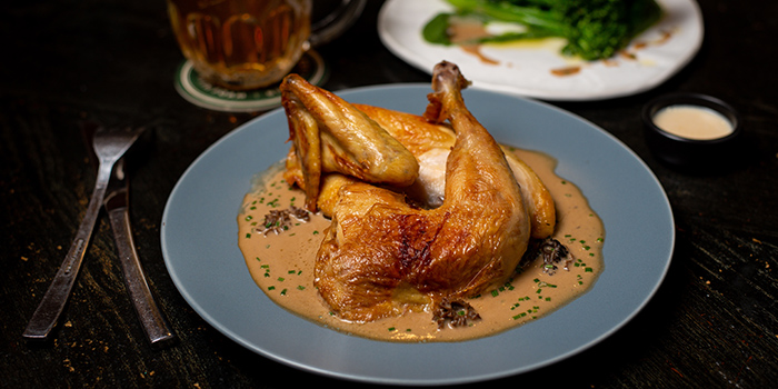 Roasted Half Kampong Chicken from The Lokal in Chinatown, Singapore