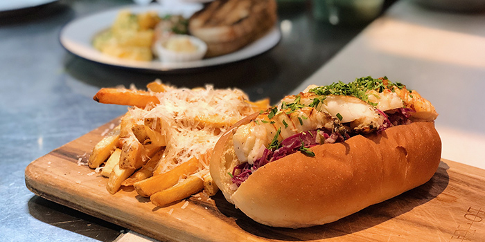 Slipper Lobster Roll from The Lokal in Chinatown, Singapore