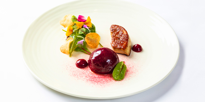 Pan Seared Rougie Foie Gras from Fireplace Grill and Bar Restaurant at InterContinental, Bangkok
