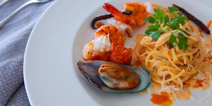 Pasta from Cafe 9 Restaurant at Centara Watergate Pavillion Hotel Bangkok 567 Ratchaprarop Rd Makkasan, Ratchathewi Bangkok