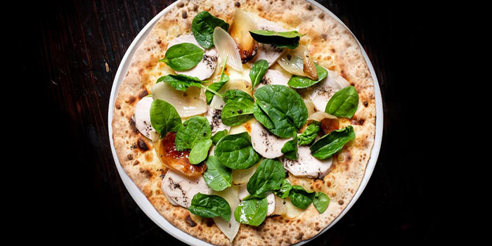 Chicken Truffle Pizza from Peperoni Pizzeria in Biopolis in Buona Vista, Singapore