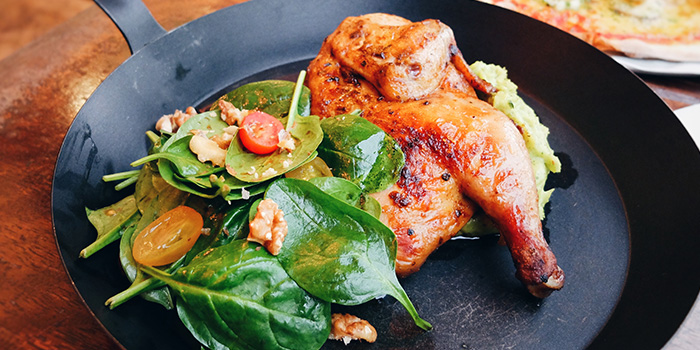 Roast Chicken from Peperoni Pizzeria along Greenwood Avenue in Bukit Timah, Singapore