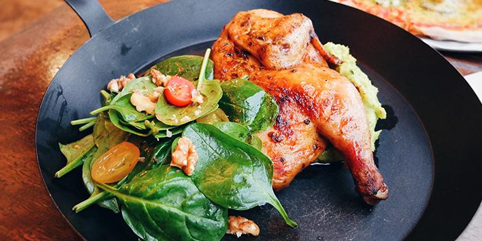 Roast Chicken from Peperoni Pizzeria in Biopolis in Buona Vista, Singapore