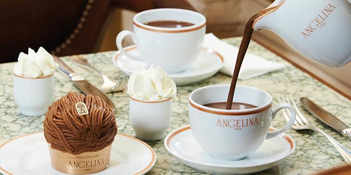 Rivoli Chocolat Chaud from Angelina (Marina Bay Sands) in Marina Bay, Singapore
