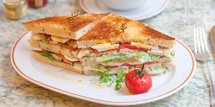 Club Sandwich from Angelina (Marina Bay Sands) in Marina Bay, Singapore