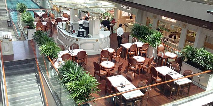 Interior of Angelina (Marina Bay Sands) in Marina Bay, Singapore