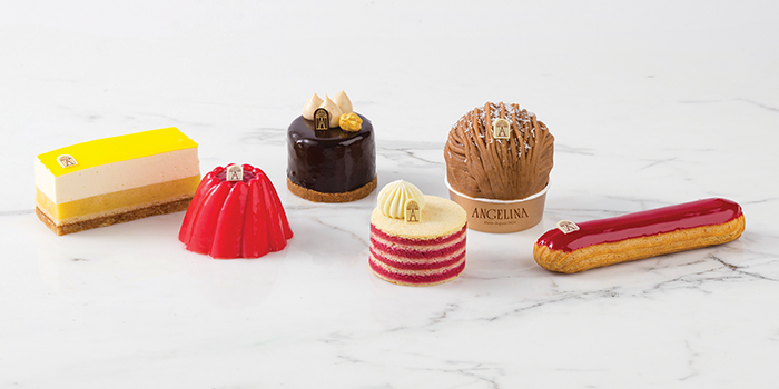 Pastry Spread from Angelina (Marina Bay Sands) in Marina Bay, Singapore
