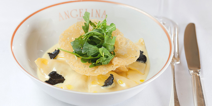 Truffle Ravioli from Angelina (Marina Bay Sands) in Marina Bay, Singapore