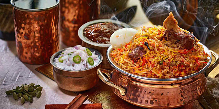 Biryani from Anjappar (Syed Alwi Road) in Little India, Singapore