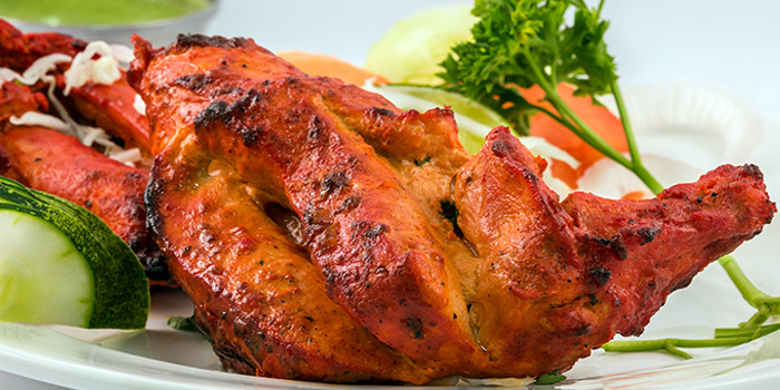 Tandoori Chicken from Anjappar (Race Course Road) in Little India, Singapore