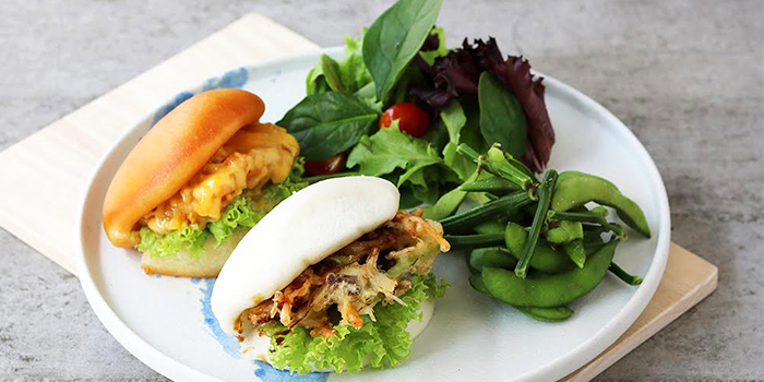 Bao Set from Bao Makers in Chinatown, Singapore