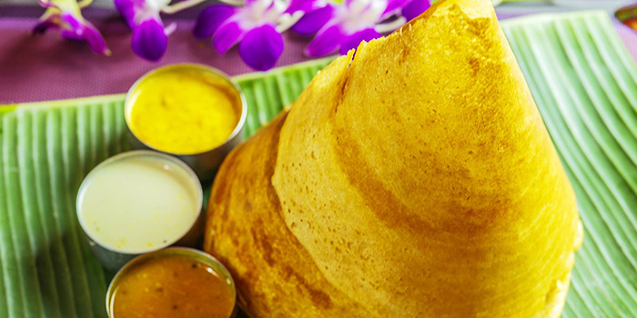 Paper Thosai from Casuarina Curry (Upper Thomson) in Thomson, Singapore
