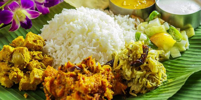 Vegetarian Set Meal from Casuarina Curry (Sixth Avenue) in Bukit Timah, Singapore