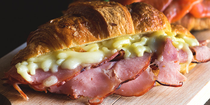 Ham & Cheese Croissant from Club Meatballs in Chinatown, Singapore