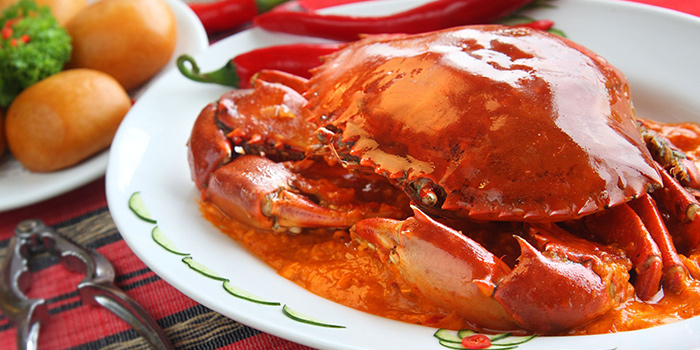 Chilli Crab from Coleman