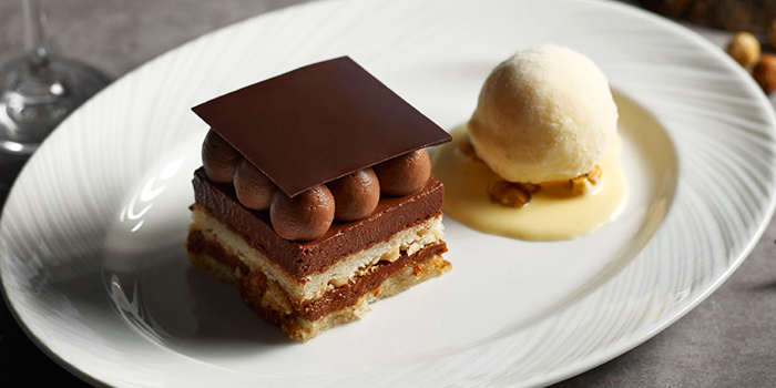 Hazelnut Crunchy Cake from Cook & Brew at The Westin Singapore in Marina Bay, Singapore