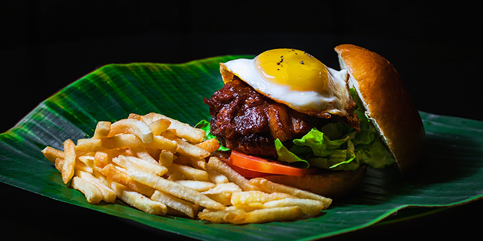 Messy Rocker Burger from Drink Culture in Chinatown, Singapore