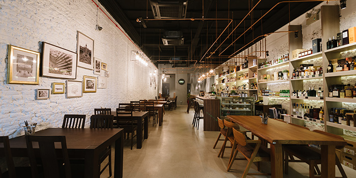 Seating Area of House of MU in Robertson Quay, Singapore