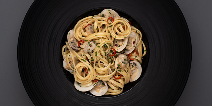 Linguine Aglio Olie from House of MU in Robertson Quay, Singapore
