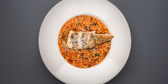 Risotto with Chicken Breast from House of MU in Robertson Quay, Singapore