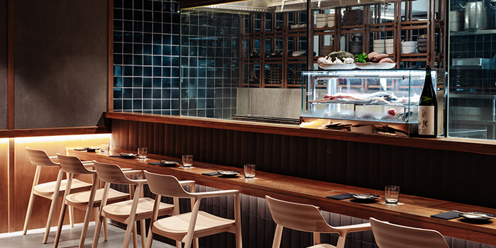 Counter Seats of Jinjo at Shaw Centre in Orchard, Singapore