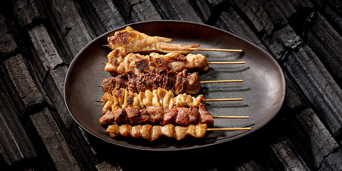 Yakitori from Jinjo at Shaw Centre in Orchard, Singapore