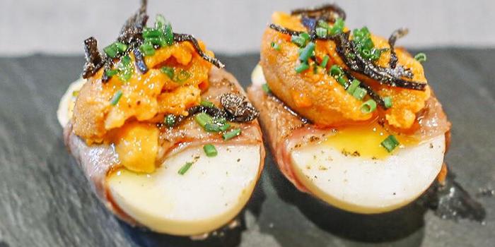Smoked Egg from LUKA @ Tanjong Pagar in Tanjong Pagar, Singapore