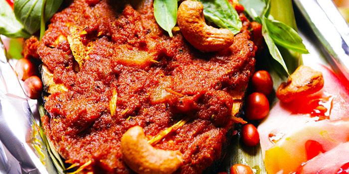 Tumeric Fish from New Fut Kai Vegetarian 新佛界素食 in Jalan Besar, Singapore