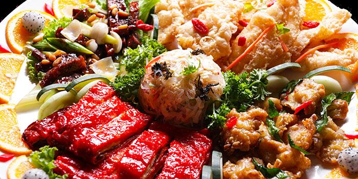 Signature Platter from New Fut Kai Vegetarian 新佛界素食 in Jalan Besar, Singapore