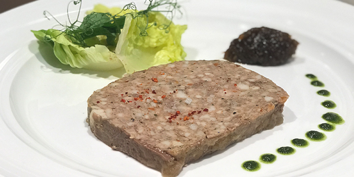 Southwest France Duck Liver Terrine from So France at Duo Galleria in Bugis, Singapore