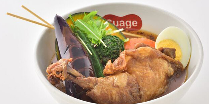Chicken Leg Honetsuki from Suage at Capitol Piazza in City Hall, Singapore