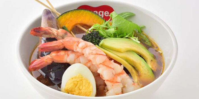 Prawn & Avocado from Suage at Capitol Piazza in City Hall, Singapore