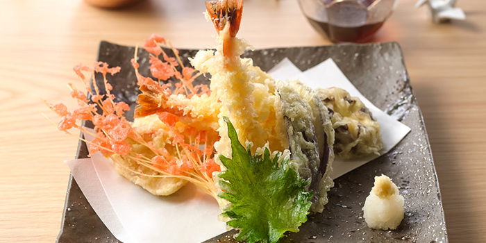 Ebi Tempura from Sushi Jin at Owen Link in Little India, Singapore