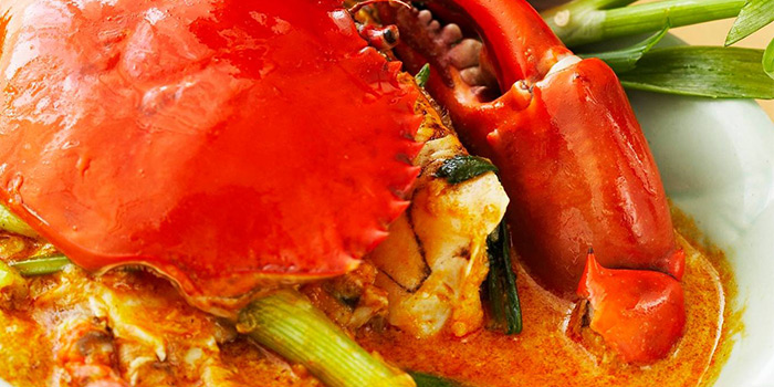 Fried Curry Crab from Thanying Restaurant at Amara Singapore in Tanjong Pagar, Singapore