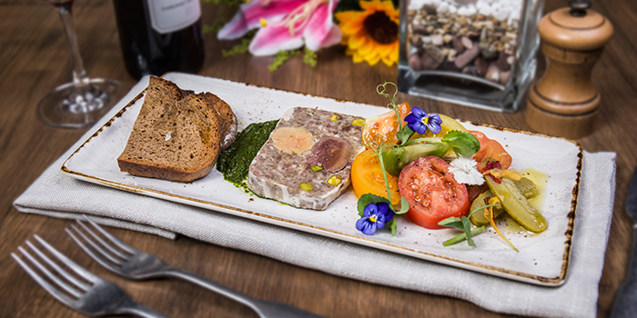 French Styled Country Terrine from The RANCH Steakhouse By ASTONS on River Valley Road in Clarke Quay, Singapore