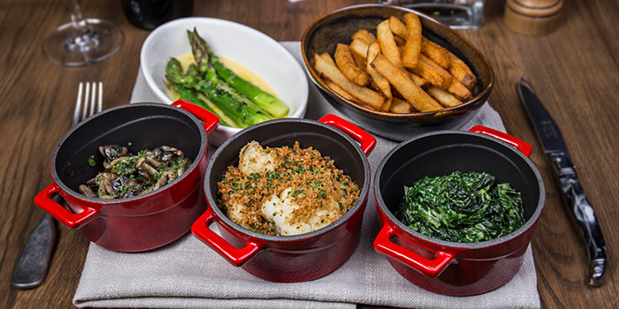 Side Dishes from The RANCH Steakhouse By ASTONS on River Valley Road in Clarke Quay, Singapore