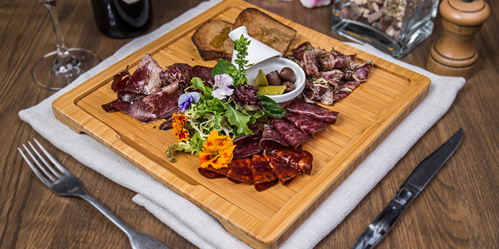 Wagyu Cold Cut Platter from The RANCH Steakhouse By ASTONS on River Valley Road in Clarke Quay, Singapore