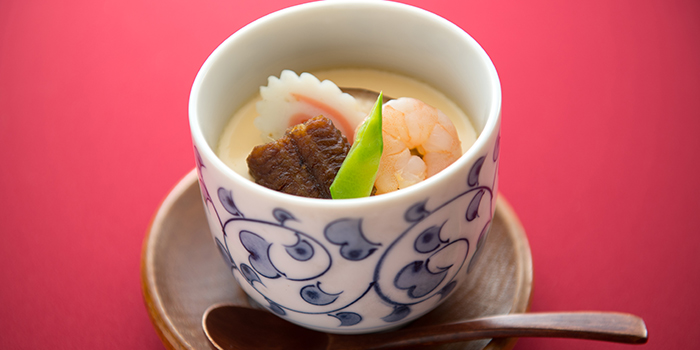 Unagi Chawanmushi from Unagiya Ichinoji at Riverside Village Residences in Robertson Quay, Singapore