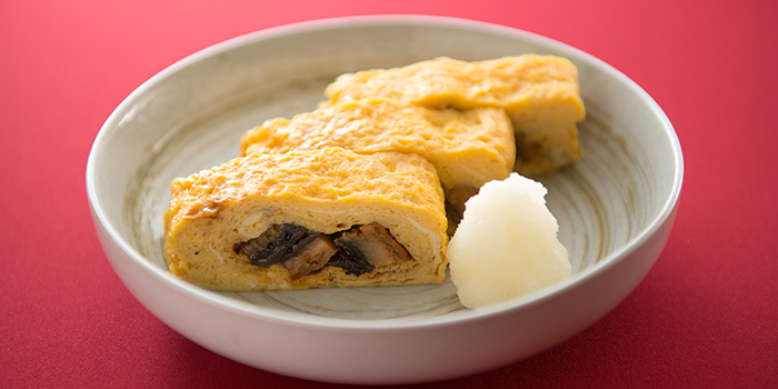Egg Roll from Unagiya Ichinoji at Riverside Village Residences in Robertson Quay, Singapore