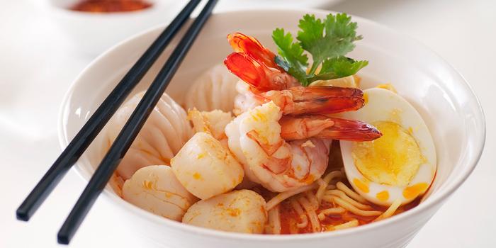 Seafood Laksa, Lobby Lounge (Conrad Hong Kong), Admiralty, Hong Kong