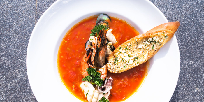 Seafood-Stew from Cradle in Kamala, Phuket, Thailand