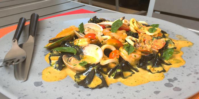 Sea food from Leonardo Da Vinci Restaurant in Kata Noi, Phuket, Thailand.