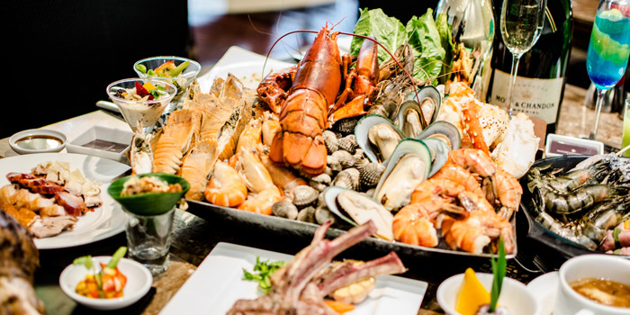 Seafood Selection from Espresso Restaurant at InterContinental, Bangkok