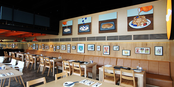 Interior of Slappy Cakes (The Grandstand) at The Grandstand in Bukit Timah, Singapore
