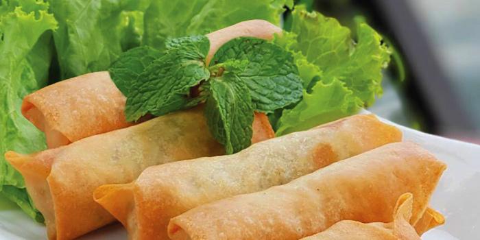 Pork Spring Roll from NYE Cafestaurant at 2/1 Soi Chiangmai 1 Chiangmai Road Klongsarn Bangkok