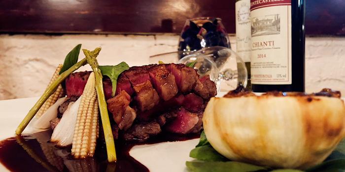 Steak, La Taverna Ristorante, Tsim Sha Tsui, Hong Kong
