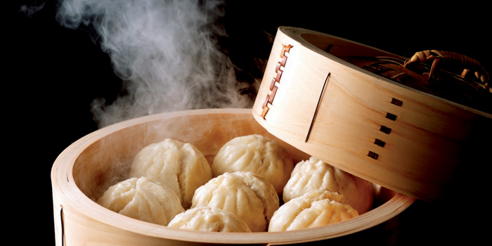 Steam Buns from Summer Palace Restaurant at InterContinental, Bangkok