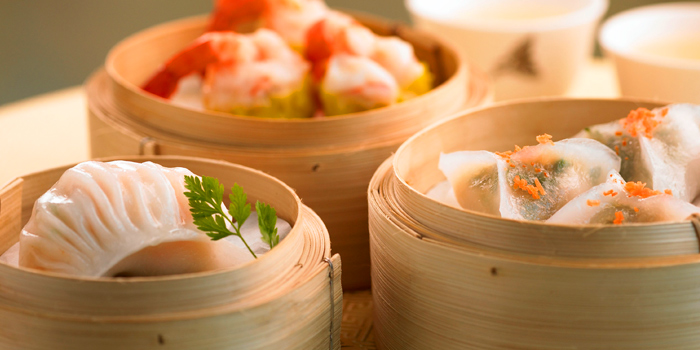 Selection of Dim Sum from Summer Palace Restaurant at InterContinental, Bangkok