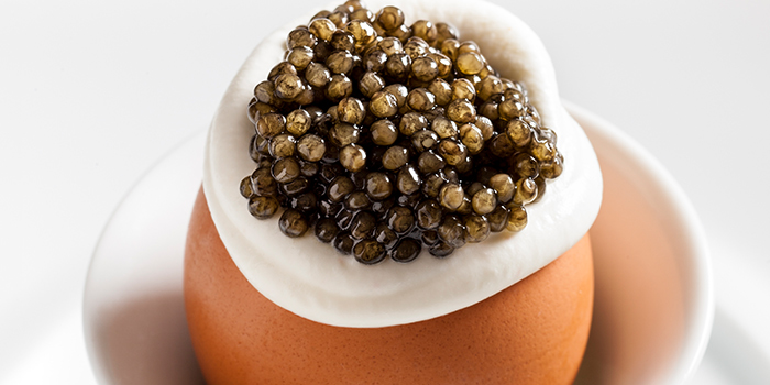 Egg Caviar from The Dempsey Cookhouse and Bar  in Dempsey, Singapore